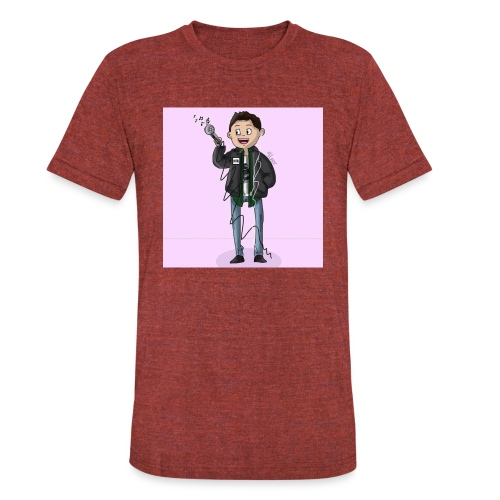 Lil Aver Art - Unisex Tri-Blend T-Shirt