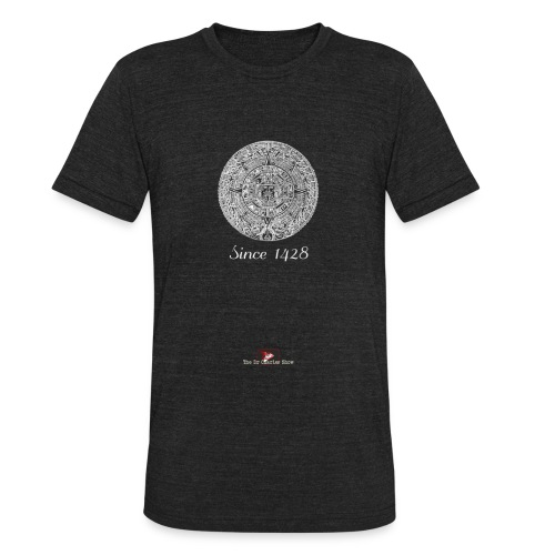Since 1428 Aztec Design! - Unisex Tri-Blend T-Shirt
