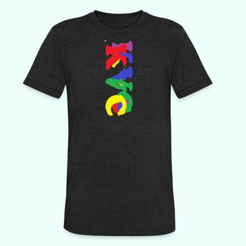 1 - Unisex Tri-Blend T-Shirt