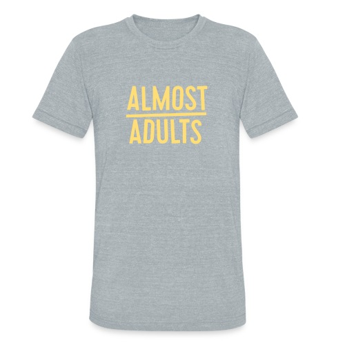 AlmostAdults Logo png - Unisex Tri-Blend T-Shirt