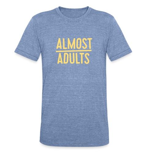 AlmostAdults Logo png - Unisex Tri-Blend T-Shirt