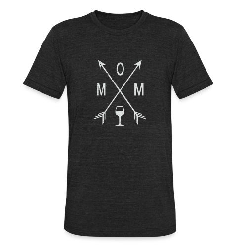 Mom Wine Time - Unisex Tri-Blend T-Shirt