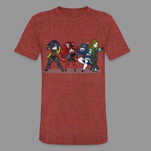 Chibi Autoscorers - Unisex Tri-Blend T-Shirt