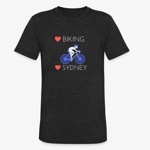Love Biking Love Sydney tee shirts - Unisex Tri-Blend T-Shirt