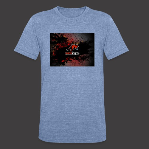 RedOpz Splatter - Unisex Tri-Blend T-Shirt