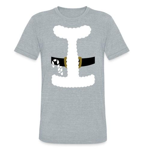 SANTA CLAUS SUIT - Men's Polo Shirt - Unisex Tri-Blend T-Shirt