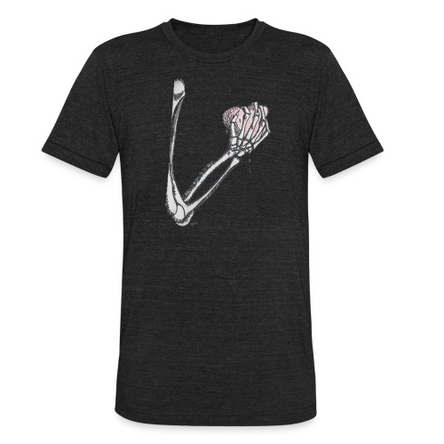 I hold it close to my heart. - Unisex Tri-Blend T-Shirt