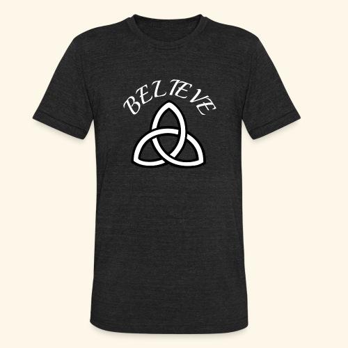 celtic pride believe TEE - Unisex Tri-Blend T-Shirt