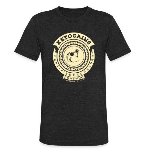 Ketogains FAQ - Unisex Tri-Blend T-Shirt