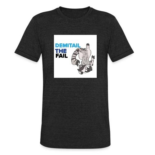 Demitail The FAIL - Unisex Tri-Blend T-Shirt