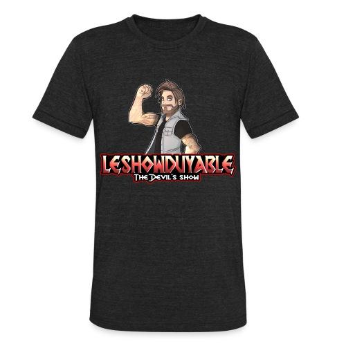 LeShowDuyable Hola! - Unisex Tri-Blend T-Shirt