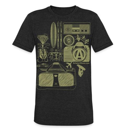 Aviator s World Tan - Unisex Tri-Blend T-Shirt
