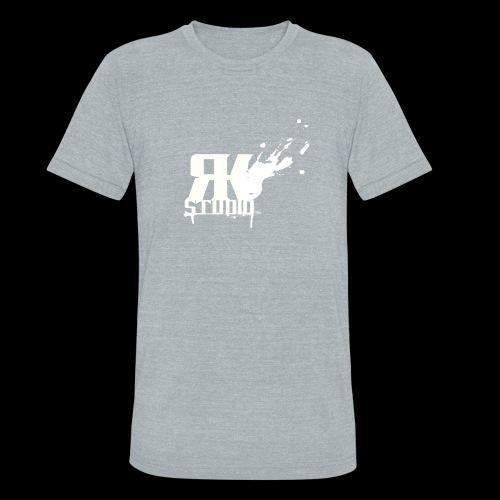 RKStudio White Logo Version - Unisex Tri-Blend T-Shirt