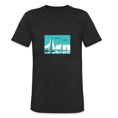 Beautiful Croatia - Unisex Tri-Blend T-Shirt