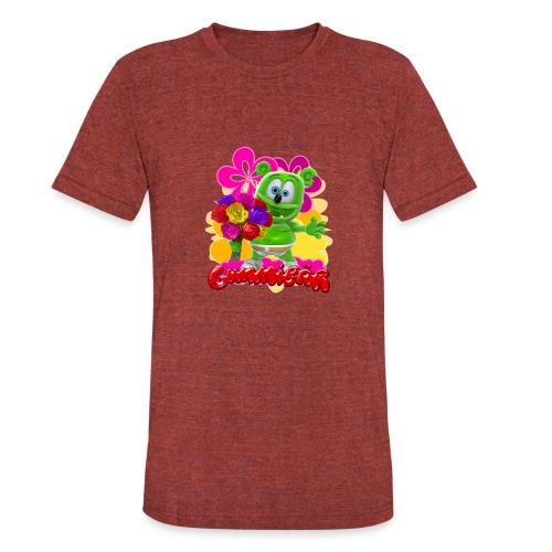 Gummibär Flowers - Unisex Tri-Blend T-Shirt