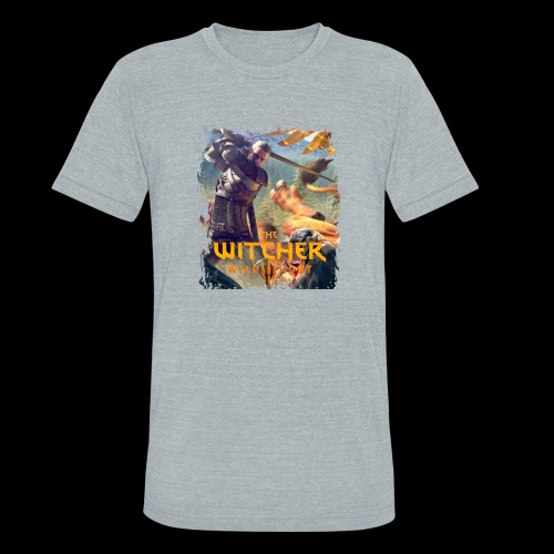 The Witcher 3 - Griffin - Unisex Tri-Blend T-Shirt