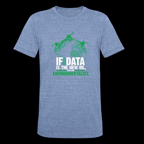 Data Environmentalist - Unisex Tri-Blend T-Shirt
