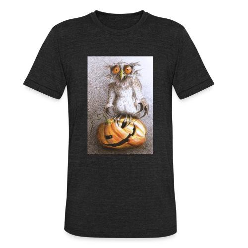 Vampire Owl - Unisex Tri-Blend T-Shirt