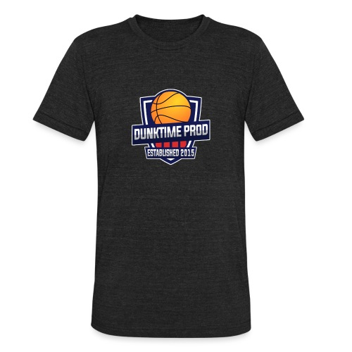 DUNKIME Producions Logo - Unisex Tri-Blend T-Shirt