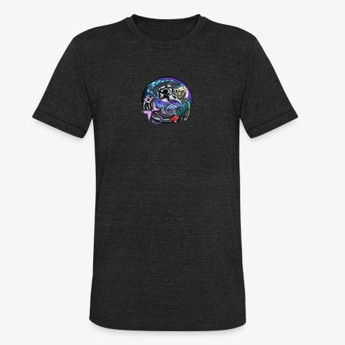 Mother CreepyPasta Nursery Rhyme Circle Design - Unisex Tri-Blend T-Shirt