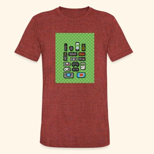 controller handy - Unisex Tri-Blend T-Shirt