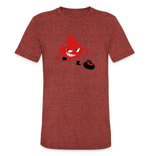 Leif Curling - Unisex Tri-Blend T-Shirt