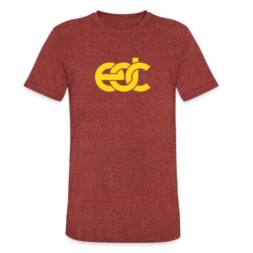EDC Electric Daisy Carnival Fan Festival Design - Unisex Tri-Blend T-Shirt