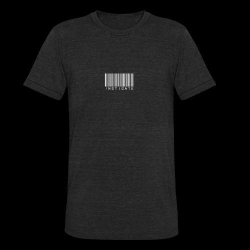 Instigate barcode - Unisex Tri-Blend T-Shirt