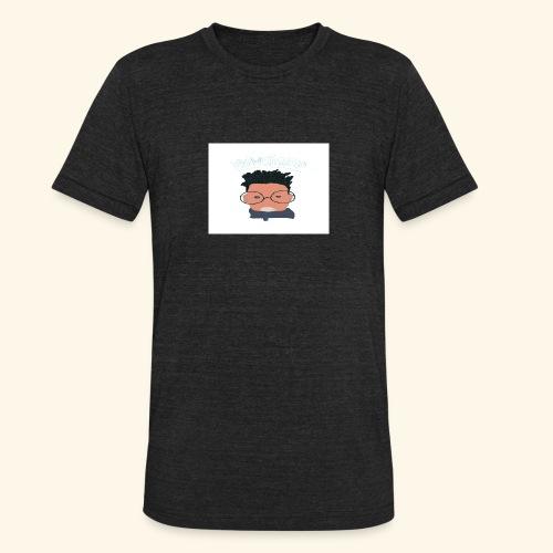 weiweigang logo edit - Unisex Tri-Blend T-Shirt