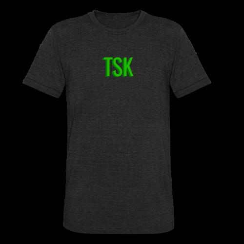 Meget simpel TSK trøje - Unisex Tri-Blend T-Shirt