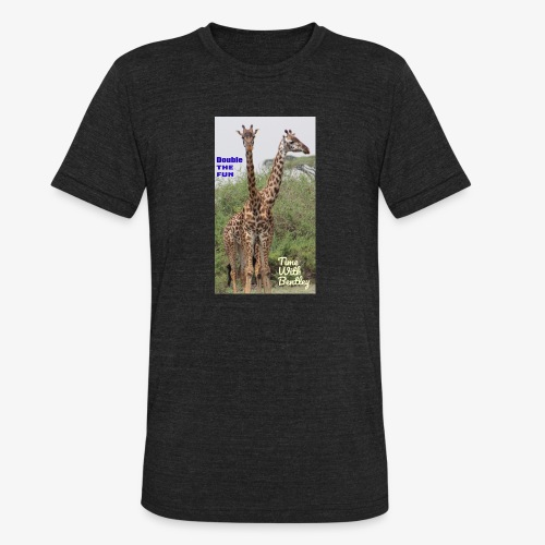 Two Headed Giraffe - Unisex Tri-Blend T-Shirt