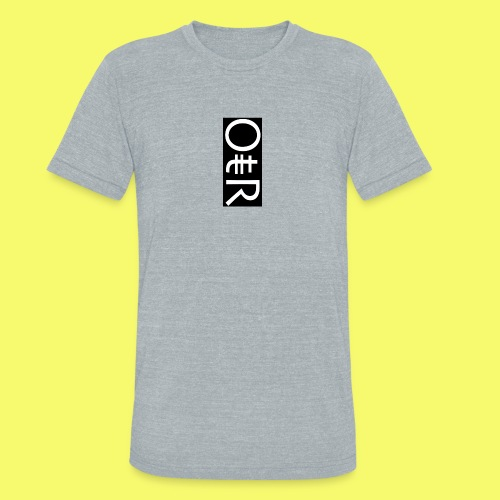 OntheReal coal - Unisex Tri-Blend T-Shirt