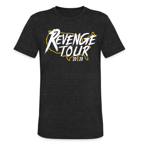 Pittsburgh Revenge Tour 2020 - Unisex Tri-Blend T-Shirt
