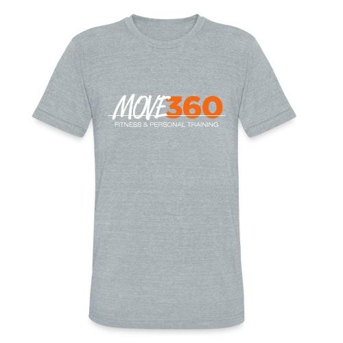 Move360 Logo LightGrey - Unisex Tri-Blend T-Shirt