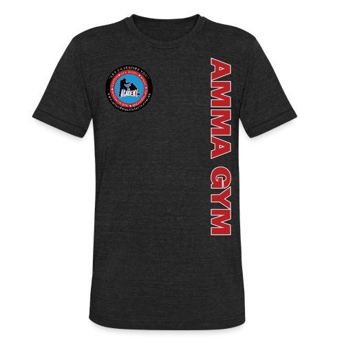 amma gym 10 png - Unisex Tri-Blend T-Shirt