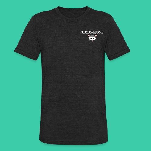 Possum white - Unisex Tri-Blend T-Shirt