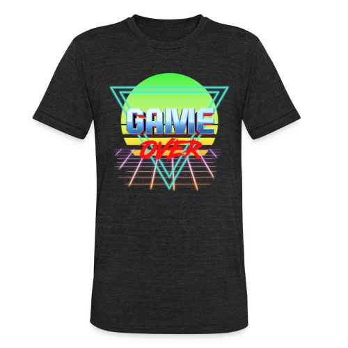 game over - Unisex Tri-Blend T-Shirt