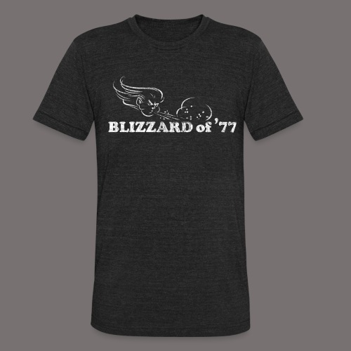 Blizzard of 77 - Unisex Tri-Blend T-Shirt