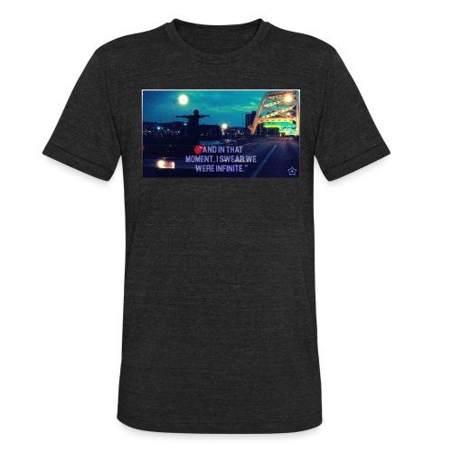 Infinite png - Unisex Tri-Blend T-Shirt