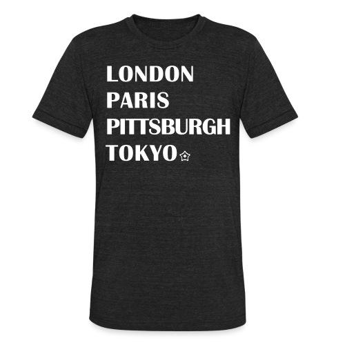 The Cities - Unisex Tri-Blend T-Shirt
