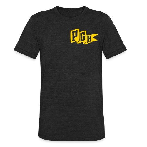 pgh flag - Unisex Tri-Blend T-Shirt