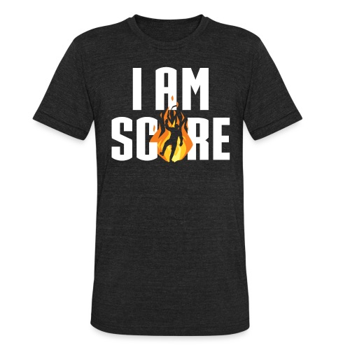 I am Fire. I am Score. - Unisex Tri-Blend T-Shirt