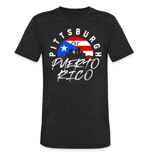 PGH PR png - Unisex Tri-Blend T-Shirt