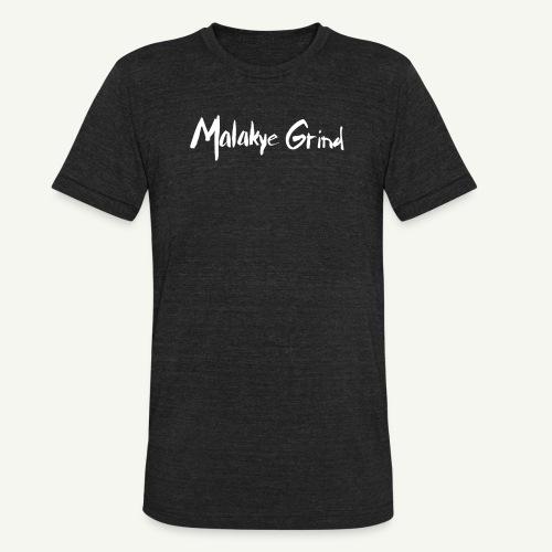 Malakye Grind Rock'n'Roll is Black Series - Unisex Tri-Blend T-Shirt