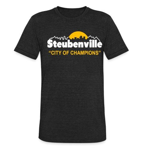 Steubenville - City of Champions - Unisex Tri-Blend T-Shirt