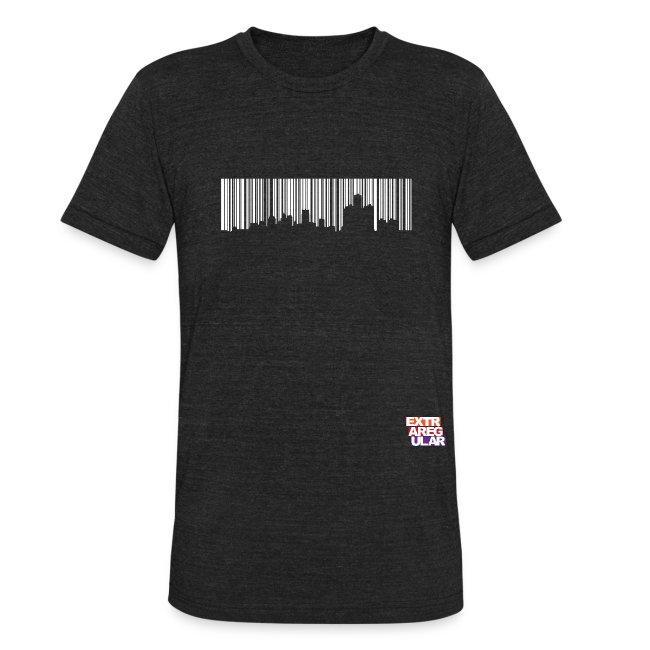 Detroit Skyline Barcode