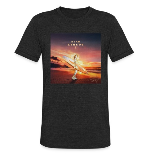 Head In The Clouds II - Unisex Tri-Blend T-Shirt