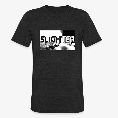 Slighter Logo Corrosion - Unisex Tri-Blend T-Shirt