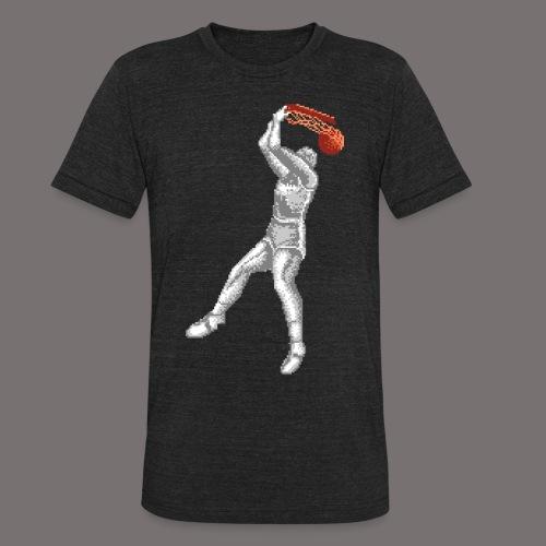 Exciting Basket Double Dribble - Unisex Tri-Blend T-Shirt