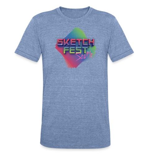 SketchFest2016 Tshirt 2500x2500 png - Unisex Tri-Blend T-Shirt